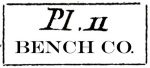 Plate 11 Bench Co.