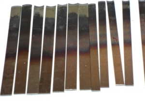 Blade Sets after heat treating