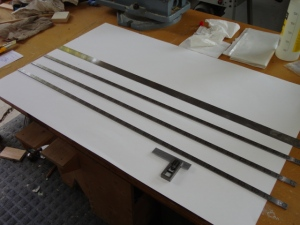 """It all starts with 1/2"""" flat steel stock."""