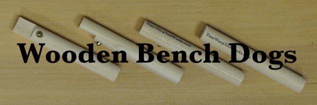 Wooden Bench Dogs