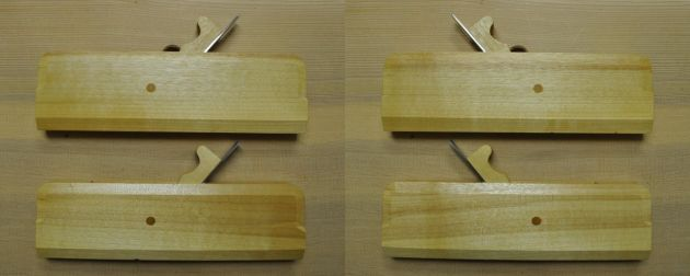 #140 - Pair of #8 Hollow and Round Moulding Planes