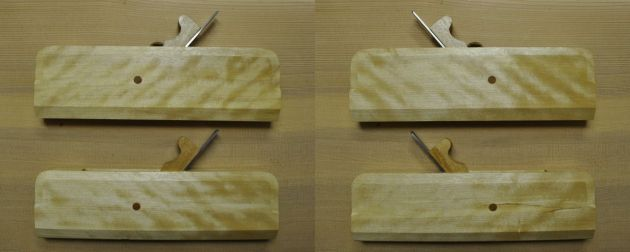 #142 - Pair of #8 Hollow and Round Moulding Planes